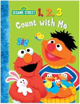 "Sesame Street 1, 2 ,3 Count with Me"" by Naomi Kleinberg"