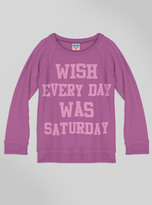 Junk Food Clothing Kids Girls Saturday Sweater-huck-l