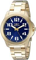 Invicta Men's 21440SYB Specialty Analog Display Quartz Gold Watch