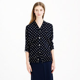Comme des Garcons PLAY merino wool cardigan sweater in polka dot