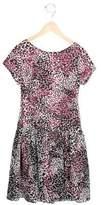 Helena Girls' Floral Print Gathered Dress w/ Tags