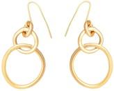 Lily Flo Jewellery Embrace Solid Gold Drop Earrings