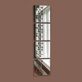 4-Piece Mosaic Wall Mirror