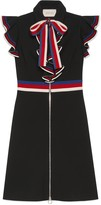 Gucci Sylvie Web stretch jersey dress