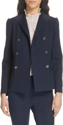 Tailored by Rebecca Taylor Double Breasted Jacket
