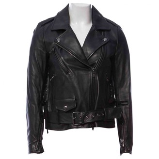 3.1 Phillip Lim Black Leather Leather Jacket for Women