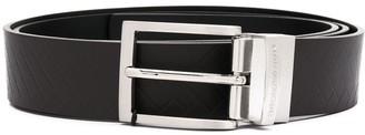 Emporio Armani Logo Engraved Belt