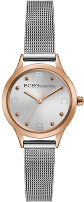 BCBGeneration Women's Stainless Mesh Bracelet Watch