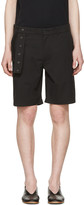 Craig Green Black Slim Shorts