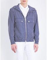 Michael Kors Polka-dot Hooded Jacket