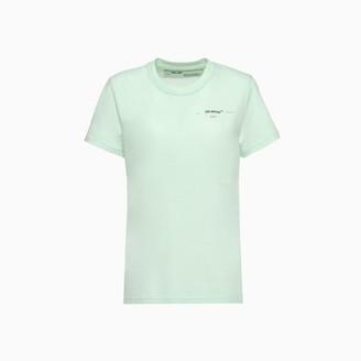 Off-White Coral Print T-shirt Owaa049r20b07039