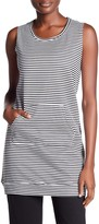 Central Park West Striped French Terry Tunic