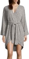 Asstd National Brand Long Sleeve Rayon Robe