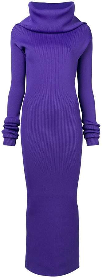 Marni high neck tube dress