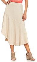 ZOZO Asymmetrical Spring Weave Skirt