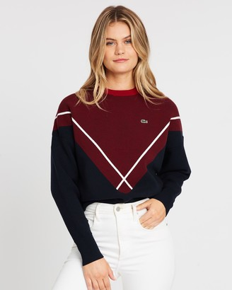 Lacoste Mif Jacquard Knit