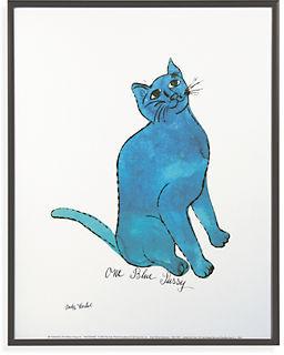 Room & Board Warhol, Untitled, One Blue Pussy
