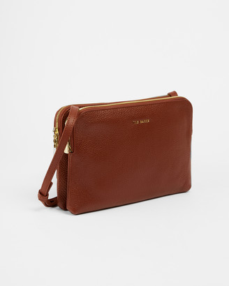Ted Baker CIARRAA Soft Leather Double Pouch XBody