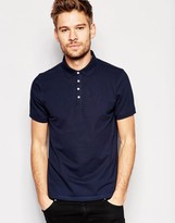 Selected Polo Shirt with Snaps