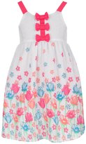 "Famous Brand Little Girls' Toddler ""Clip-Spotted Garden"" Dress"