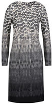 Olsen Printed Long Sleeve Dress