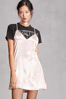 Forever 21 FOREVER 21+ Reverse Choker Slip Dress