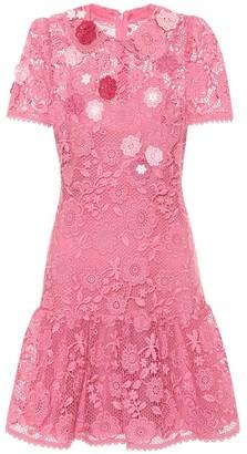 RED Valentino lace minidress