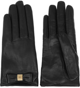 Mulberry Cashmere-lined nappa leather gloves