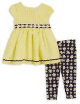 Sweet Heart Rose Sweetheart Rose Baby Girl's Daisy Two-Piece Set