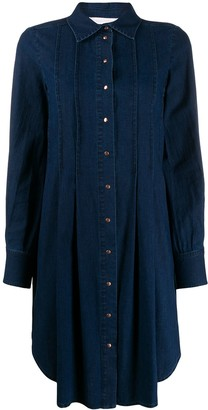 See by Chloe denim collared dress