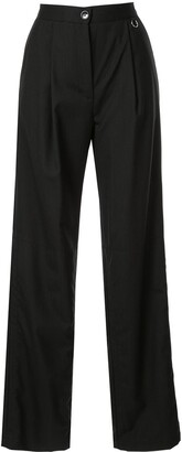 Boyarovskaya High Waisted Straight Trousers