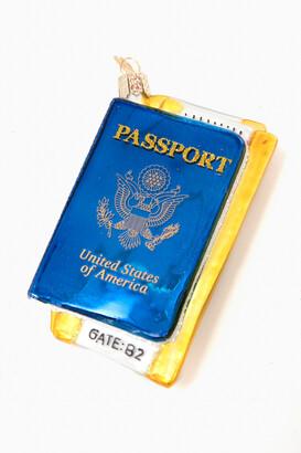 Gents Old World Christmas Passport Ornament