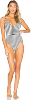 Zimmermann Aerial Scoop One Piece in Black. - size 1 / S (also in )