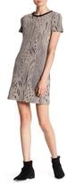 Twenty Short Sleeve Pattern Knit Dress