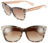 Fendi Women's 56Mm Special Fit Sunglasses - Havana/ Beige