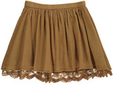 Rylee + Cru Teen & Women's Collection Lace Lined Skirt