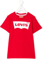 Levi's Kids - logo print T-shirt - kids - Cotton - 4 yrs