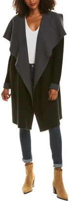 The Cashmere Project Colorblocked Cashmere Duster Cardigan