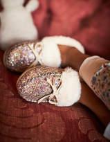Boden Glitter Slippers