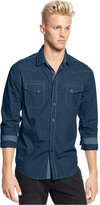 American Rag Men's Mini Houndstooth Shirt, Only at Macy's
