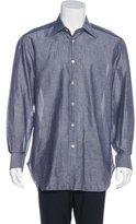 Kiton Su Misura Linen-Blend Shirt