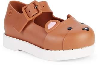 Mini Melissa Baby Girl's & Little Girl's Maggie Bear Mary Jane Shoes