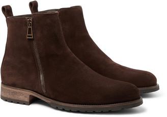 Belstaff Gloucester Suede Boots