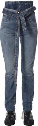 Taverniti So Ben Unravel Project Spray Corset Jeans