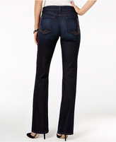 NYDJ Barbara Tummy-Control Embroidered Bootcut Jeans