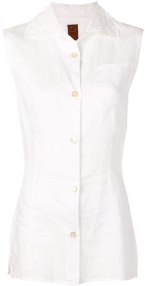 Romeo Gigli Pre-Owned 1990's Buttoned Top