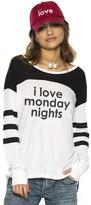 Peace Love World I Love Monday Nights Tomboy