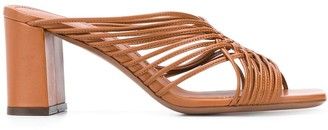 L'Autre Chose Strappy Design Sandals