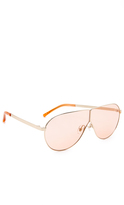 3.1 Phillip Lim Aviator Shield Sunglasses