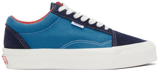 Vans Blue NS OG Old Skool LX Sneakers